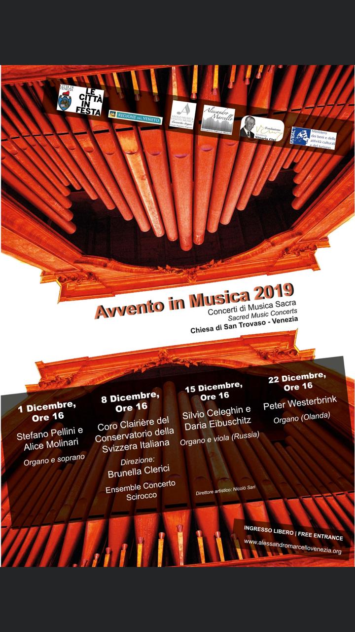 AVVENTO IN MUSICA: DUO EIBUSCHITZ CELEGHIN viola e organo